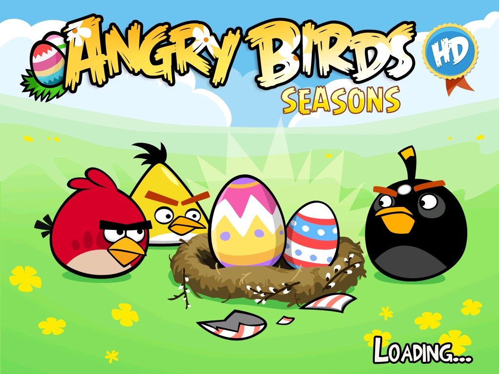 free desktop wallpaper: angry birds wallpaper