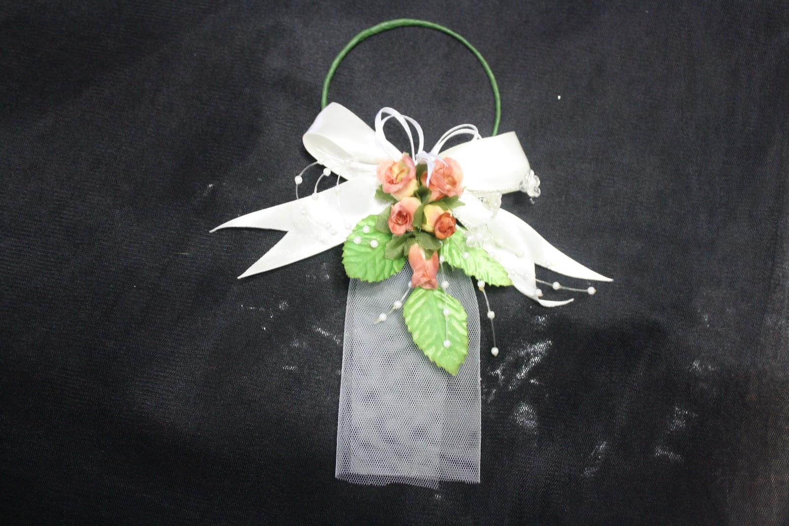 hantaran eksklusif jie u0026 39 s collection  colourful bunga gantung