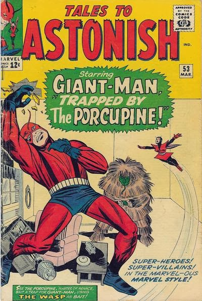 Tales to Astonish #53, Giant-Man and the Porcupine