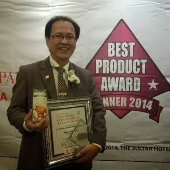 BEST PRODUCT AWARD 2014