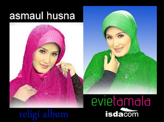 download mp3, asmaul husna, evie tamala, album asmaul husna, cover album, dangdut