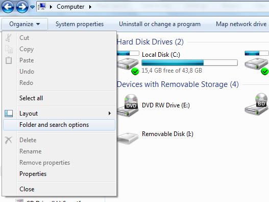 Cara mengembalikan file yang terhapus hilang di flashdisk 1