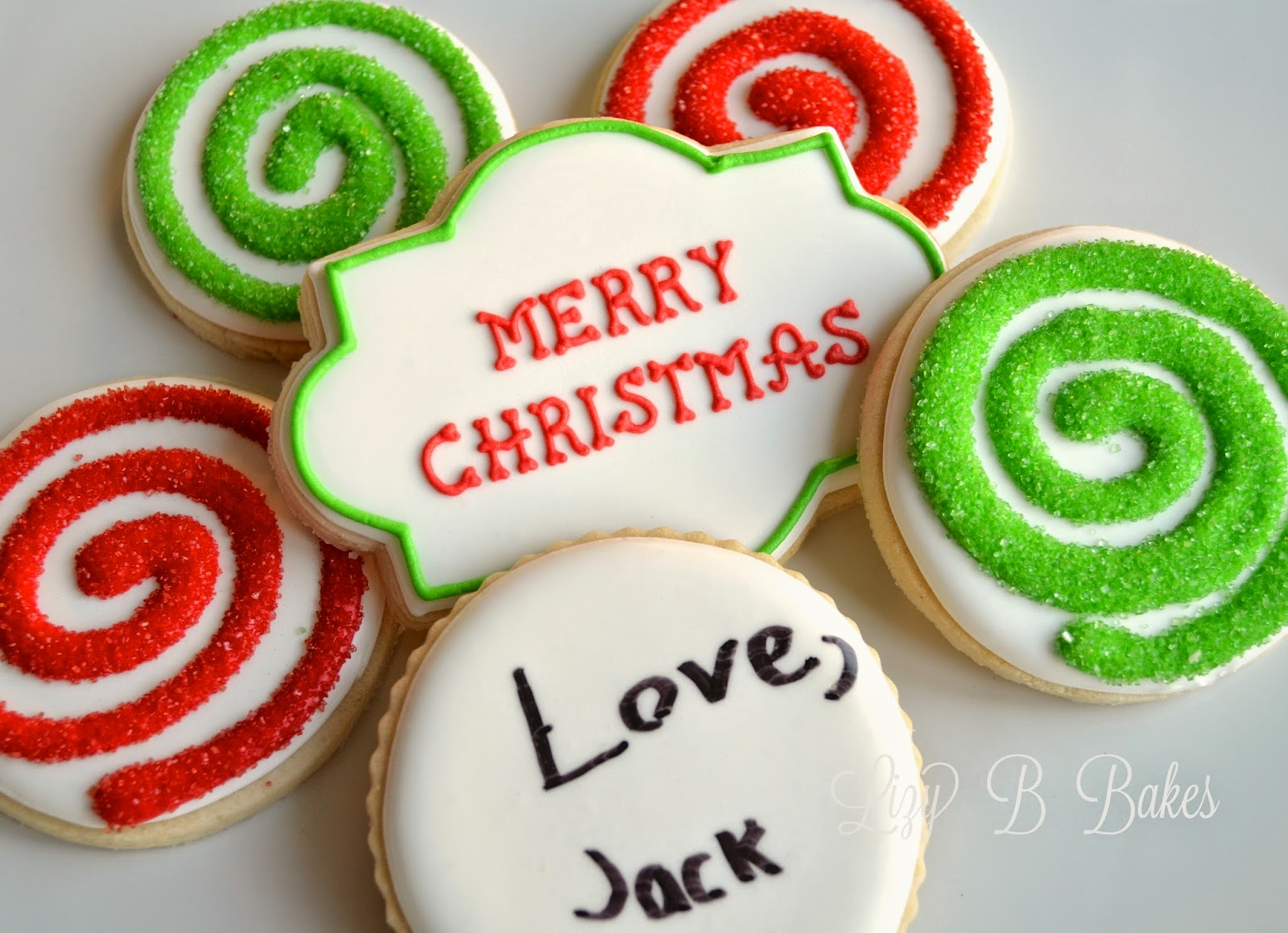Lizy b christmas cookie gifts with the kids