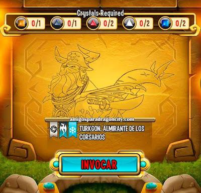 imagen de las caracteristicas del dragon turkgon