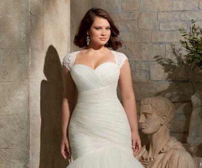 b de blanco: vestidos de novia para gorditas