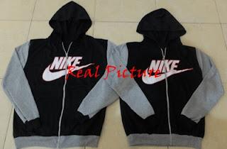 real picture Jacket Nike Kombinasi