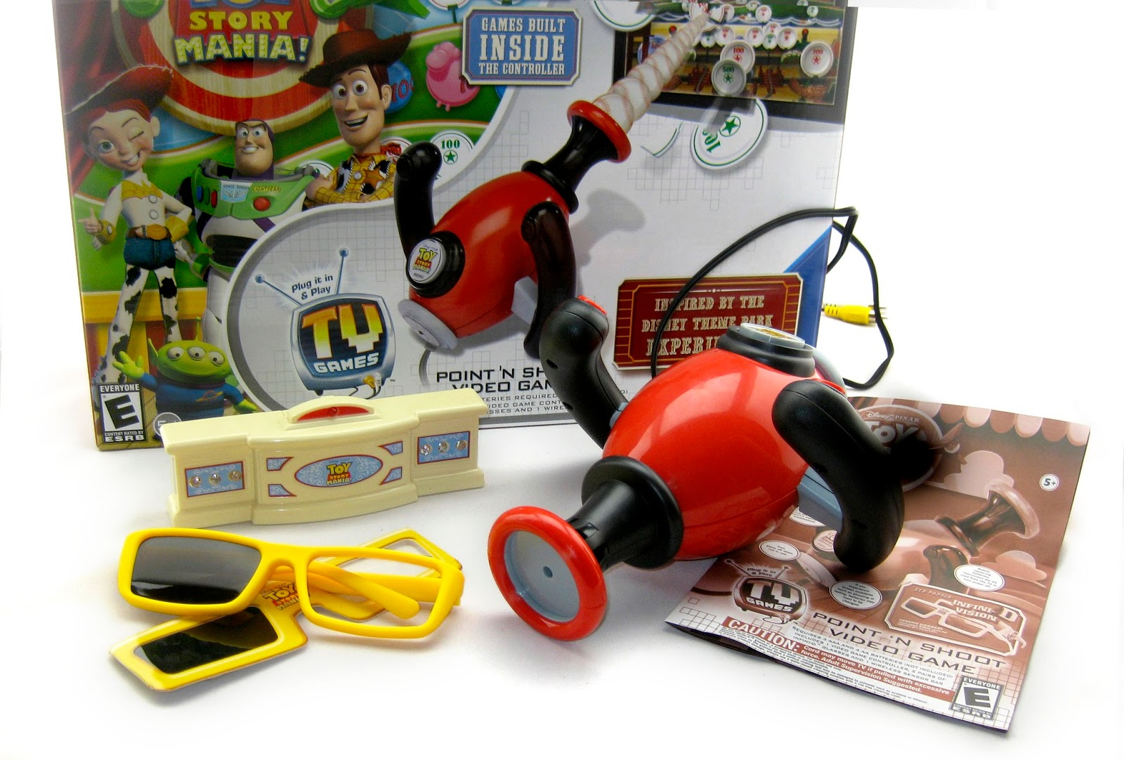 Toy Story Games To Play : Dan the pixar fan toy story mania plug and play point n