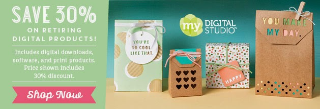 Save money on digital downloads to 2 June 2015 Stampin' Up! UK