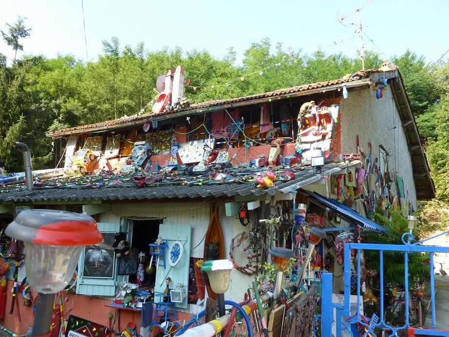 Les grigris de sophie la maison arc en ciel de christian for La maison arc en ciel