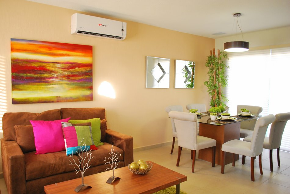 Casas en venta y departamentos casa muestra modelo oporto for Modelos de sala comedor