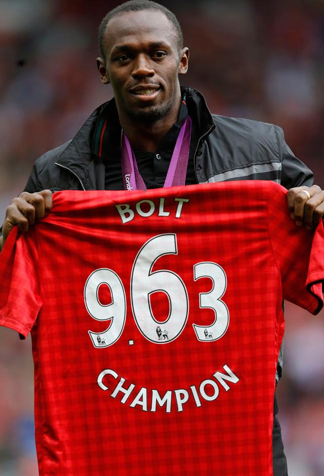 Usain Bolt 'ficha' por el Manchester United