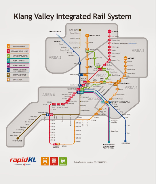Klang Valley Rail Transit Map | Official Suruhanjaya Pengangkutan ...