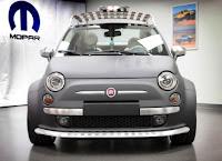 Fiat 500 Beach Cruser front