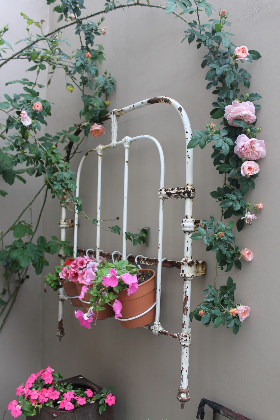 Colaboración programa Jardineras - Utilísima: Vintage Deco Marce