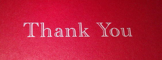 """The Power of """"Thank You"""""""
