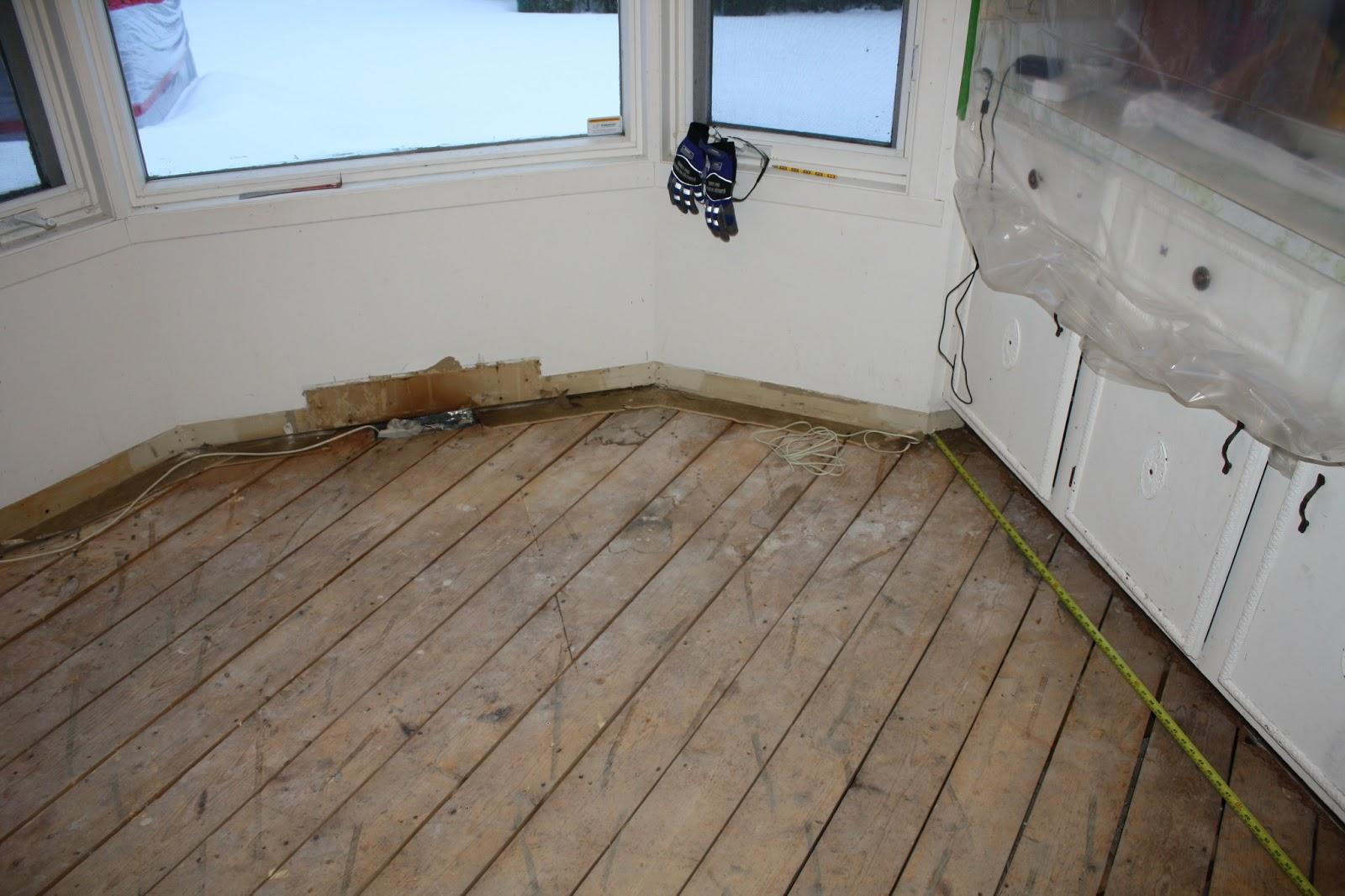 Linoleum Bad our kitchen renovation floor