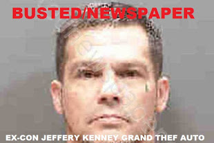 JEFFERY KENNEY GRAND THEFT ARREST HIS ADDRESS 4455 EMERALD RIDGE DRIVE SARASOTA