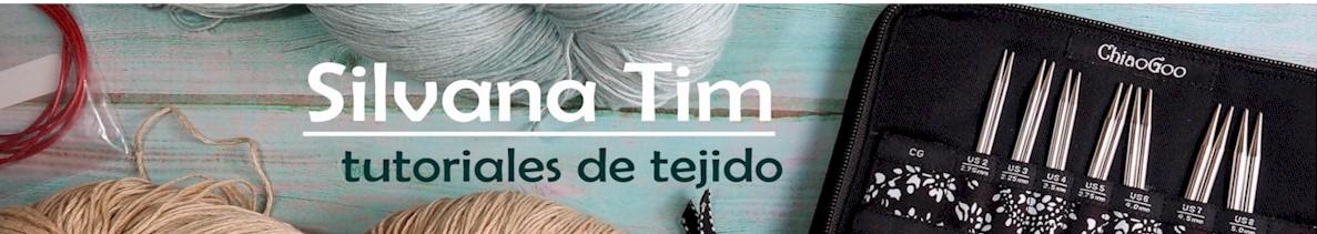 Silvana Tim - Tejido a dos Agujas (dos palillos): Puntos y puntadas, patrones de tejido, tecnicas
