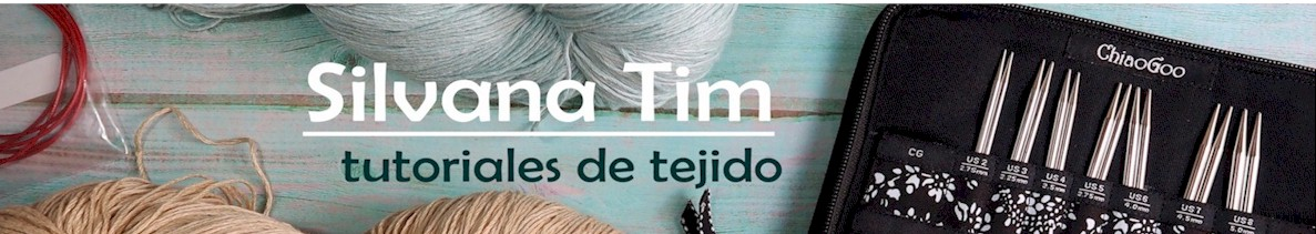 Silvana Tim - Tejido a Dos Agujas. Gran Colección de Puntos a dos agujas. Videotutoriales de tejido.