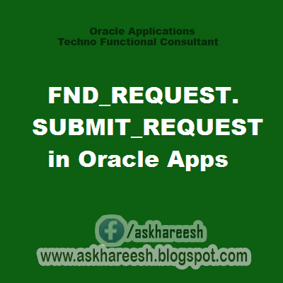FND_REQUEST.SUBMIT_REQUEST in Oracle Apps, askhareesh blog for Oracle Apps