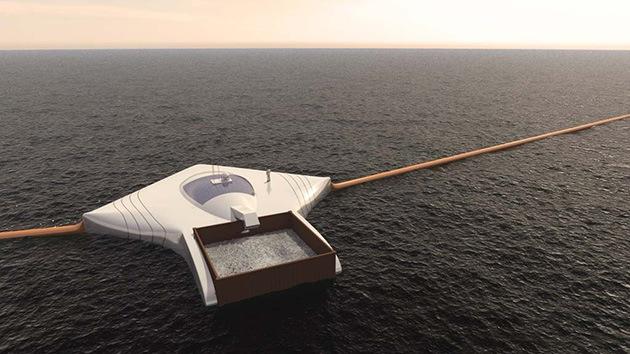 ESTUDIANTE HOLANDES CREA DISPOSITIVO PARA LIMPIAR LOS OCEANOS, MARZO 2013