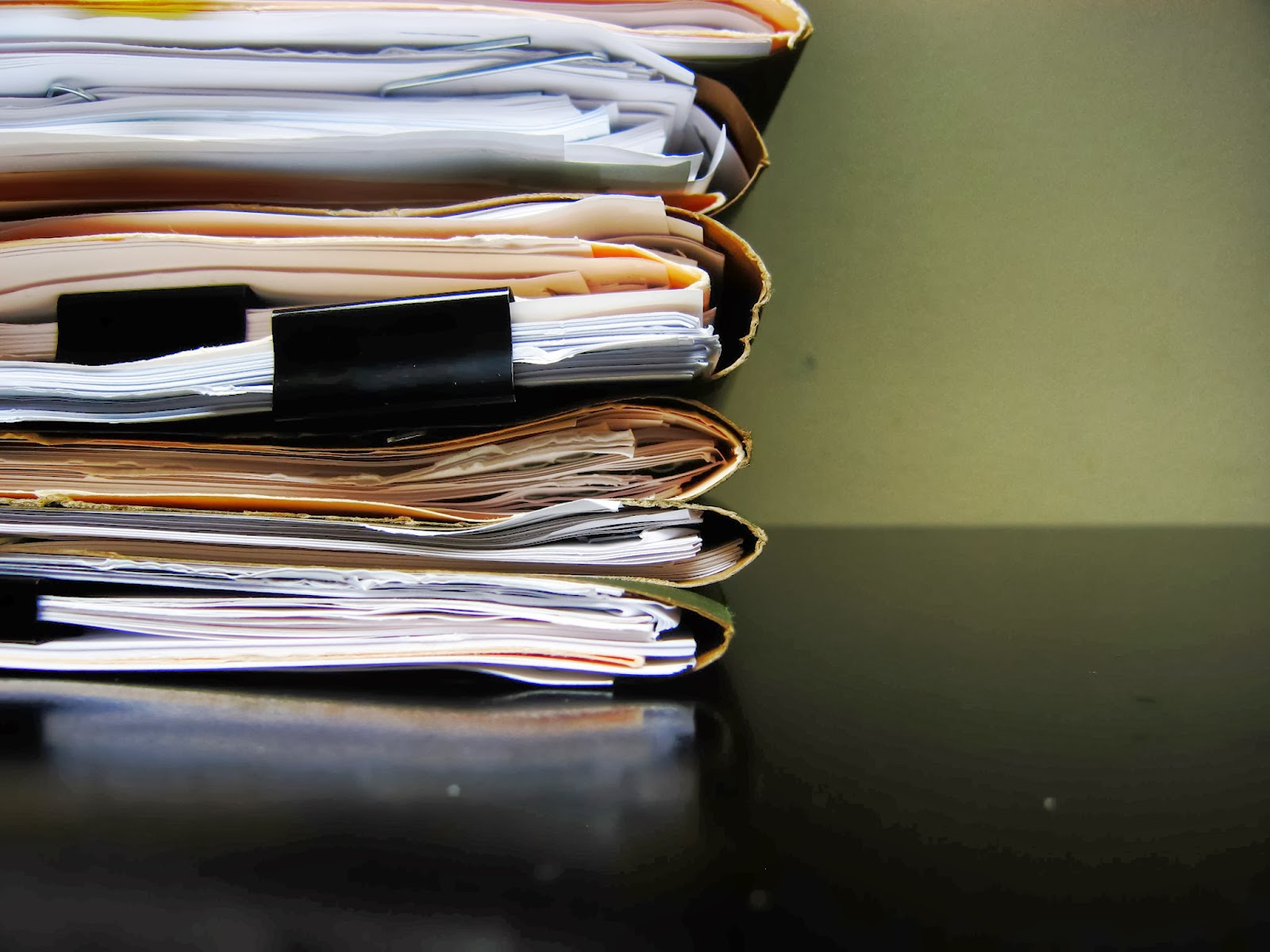 Business document management systems optimize paperwork requirements