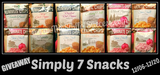 12/20/13 Simply 7 Snacks Giveaway