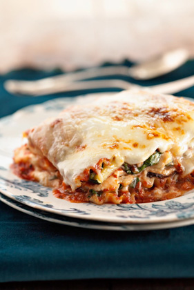 Five-Veggie Four-Cheese Lasagna - Cook'n is Fun - Food Recipes ...