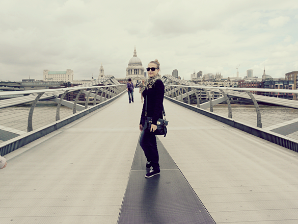 millenium bridge londres harry potter