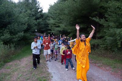 Devotees of Jagadguru Kripaluji Maharaj hold a youth camp in Canada
