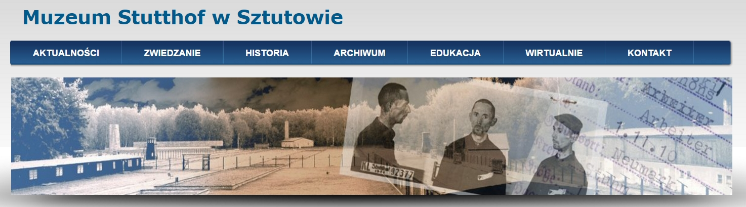 Oficjalna strona Muzeum Stutthof