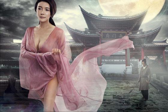05 Người đẹp phim sex 3D Tân Kim Bình Mai tung ảnh nóng lộ ngực