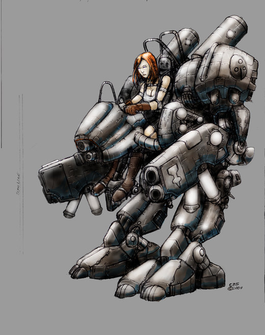 Old crusty mech por Galiford