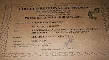 Nominacion Ancla Dorada