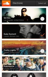 SoundCloud for BlackBerry 10