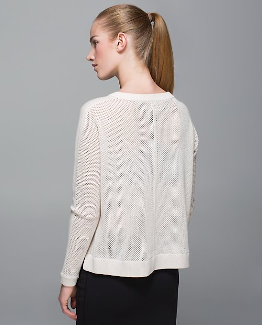 lululemon bhakti-life-sweater white