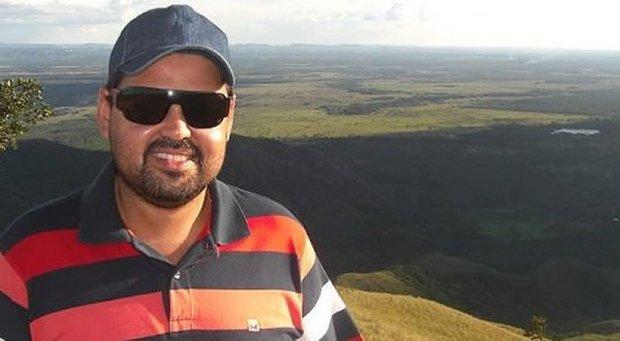Ex-vereador Cristiano Costa Machado foi baleado na cabeça ao reagir a assalto na Bahia (Foto: Reprodução/Facebook)