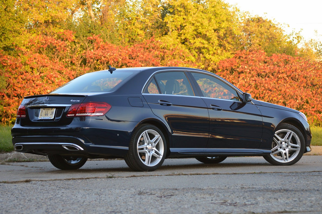 Automotiveblogz 2014 mercedes benz e350 4matic sedan for Mercedes benz e3 50