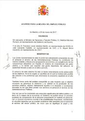 Acuerdo Empleo Publico 2017