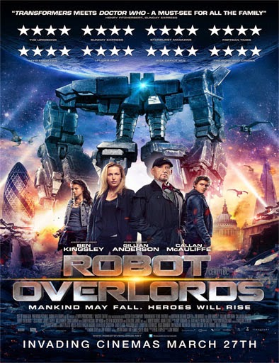 Ver Robot Overlords (2015) Online