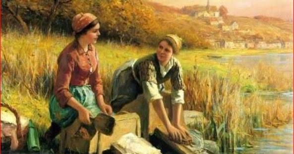 Mujeres lavando la ropa lavaderos p blicos for Imagenes de lavaderos de ropa