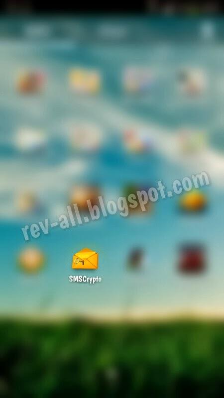 Ikon aplikasi SMSCrypto android - rahasiakan isi sms dengan enkripsi dan kata kunci (rev-all.blogspot.com)