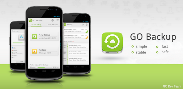 GO Backup Pro (Premium) v2.4 Apk App
