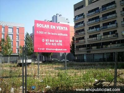 Valla publicitaria Barcelona