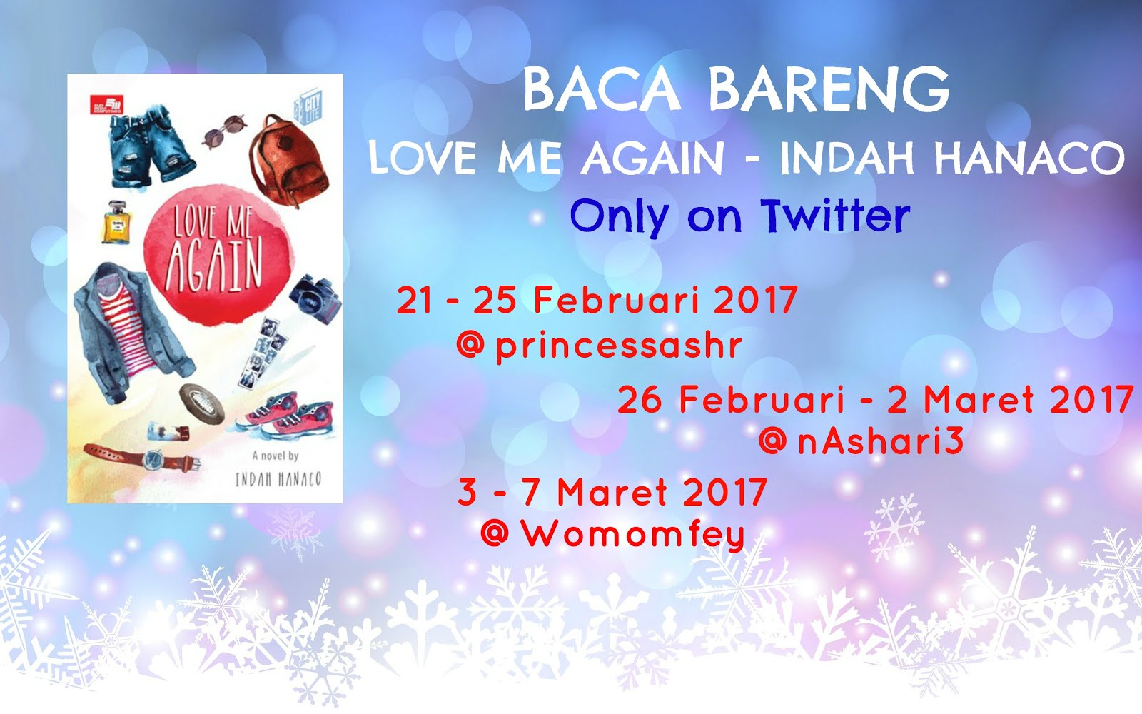 Baca Bareng Love Me Again On Twitter