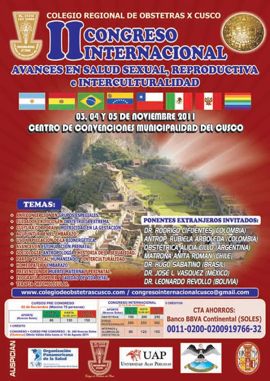 CONGRESO EN CUSCO