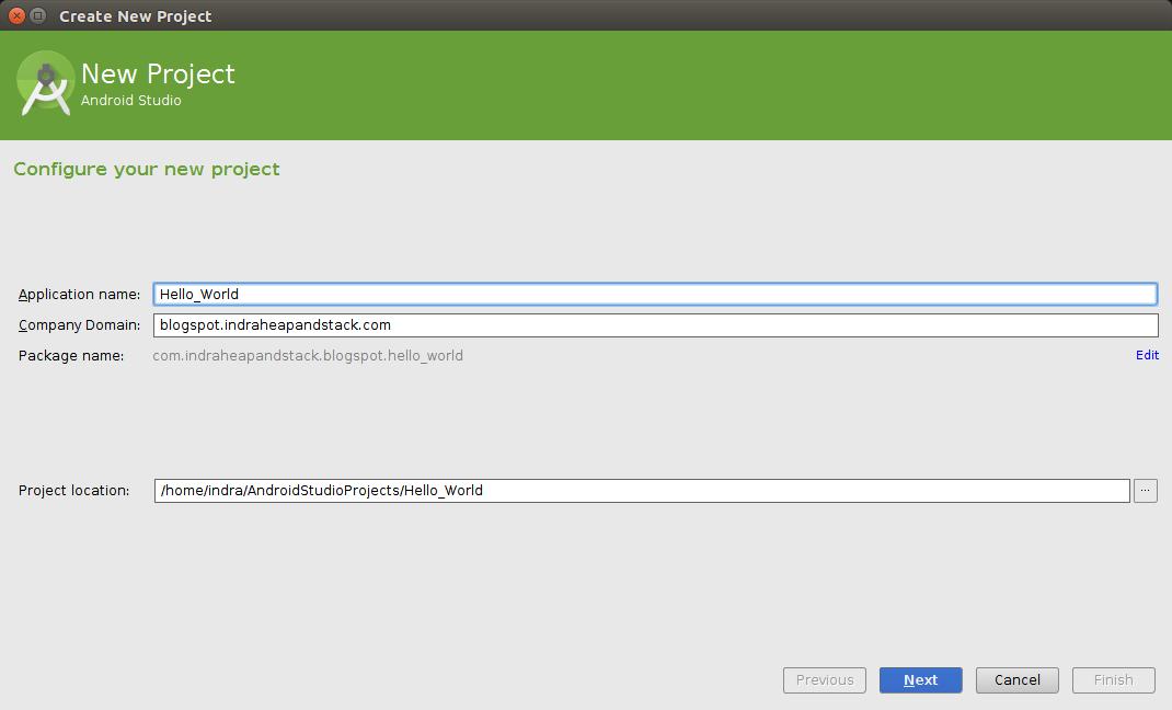 Membuat Hello World Di Android Studio ~ Java Holic