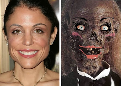 funny Bethenny Frankel before and after cosmetic surgery