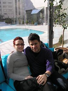 Înainte de revenirea bolii, în București