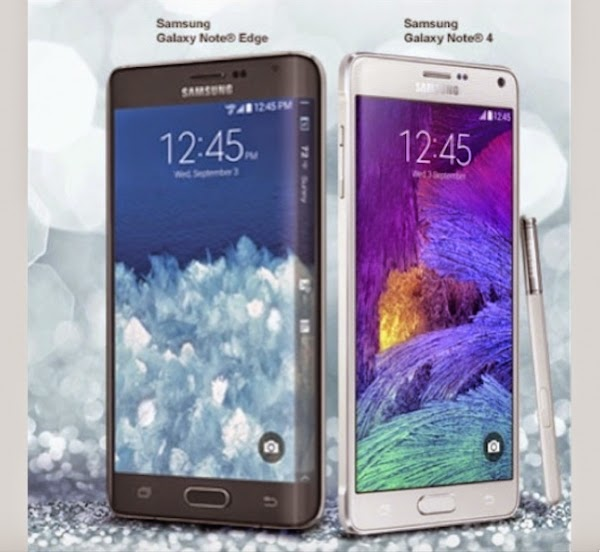 Samsung Galaxy Note Edge 4g Vs Note 4